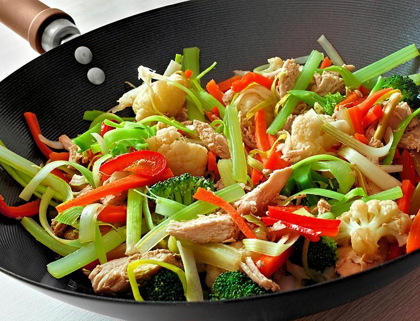 Marukan Chicken Stir-Fry