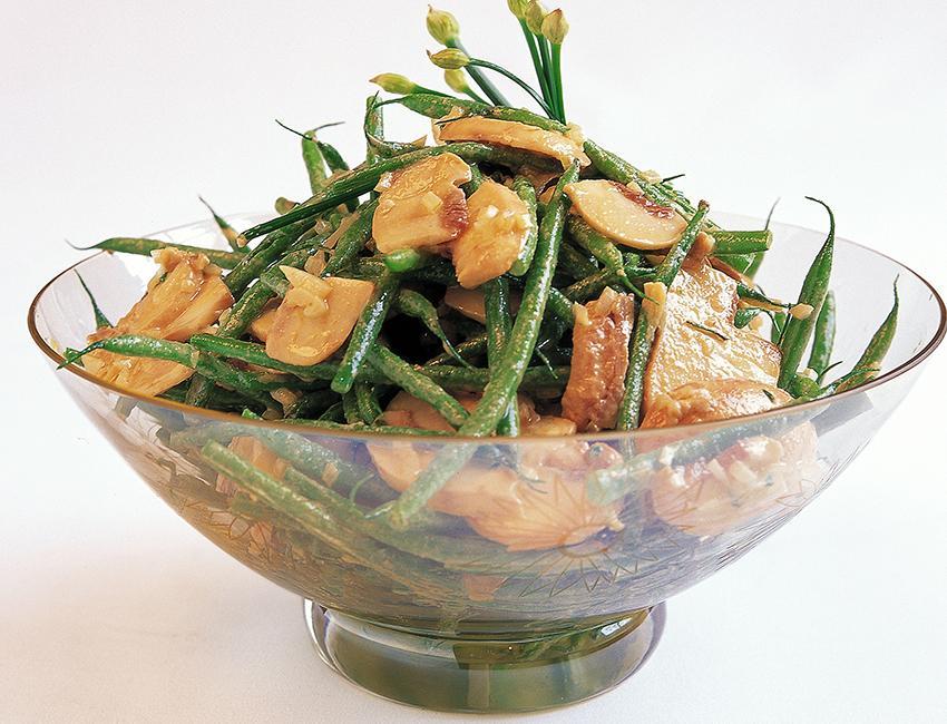 Marukan Green Bean & Mushroom Salad
