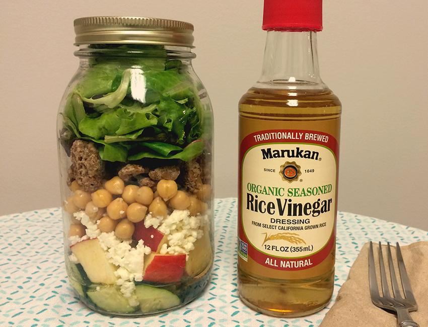 Marukan Super Yummy Mason Jar Salad