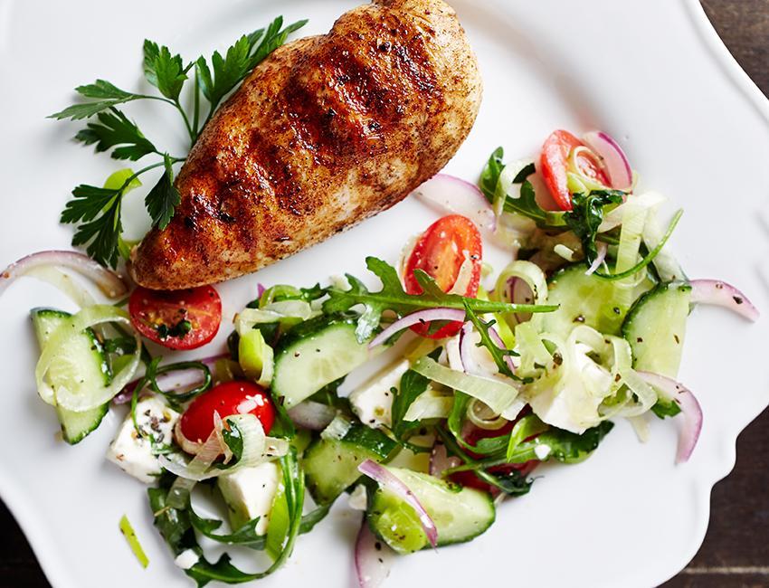 Marukan Zestful Lemon-Basil Griddle Chicken