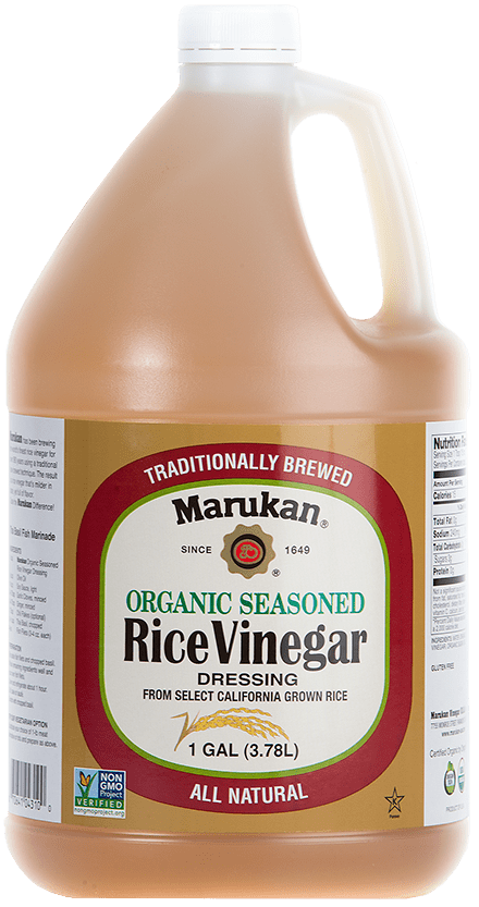 Organic Seasoned Rice Vinegar Dressing