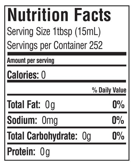 nutritional facts