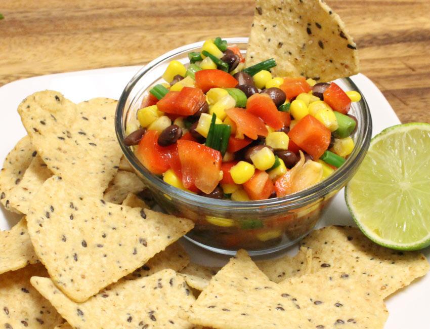 Marukan Black Bean and Sweet Corn Salsa