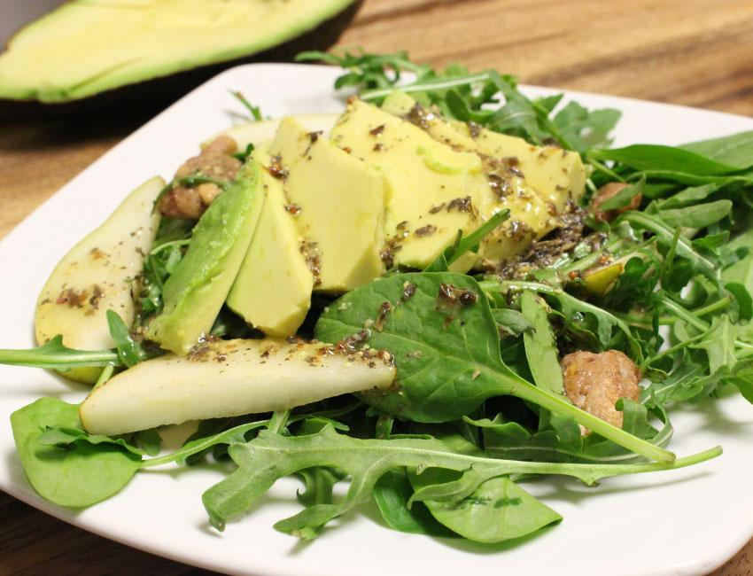 Marukan Spinach and Pear Salad