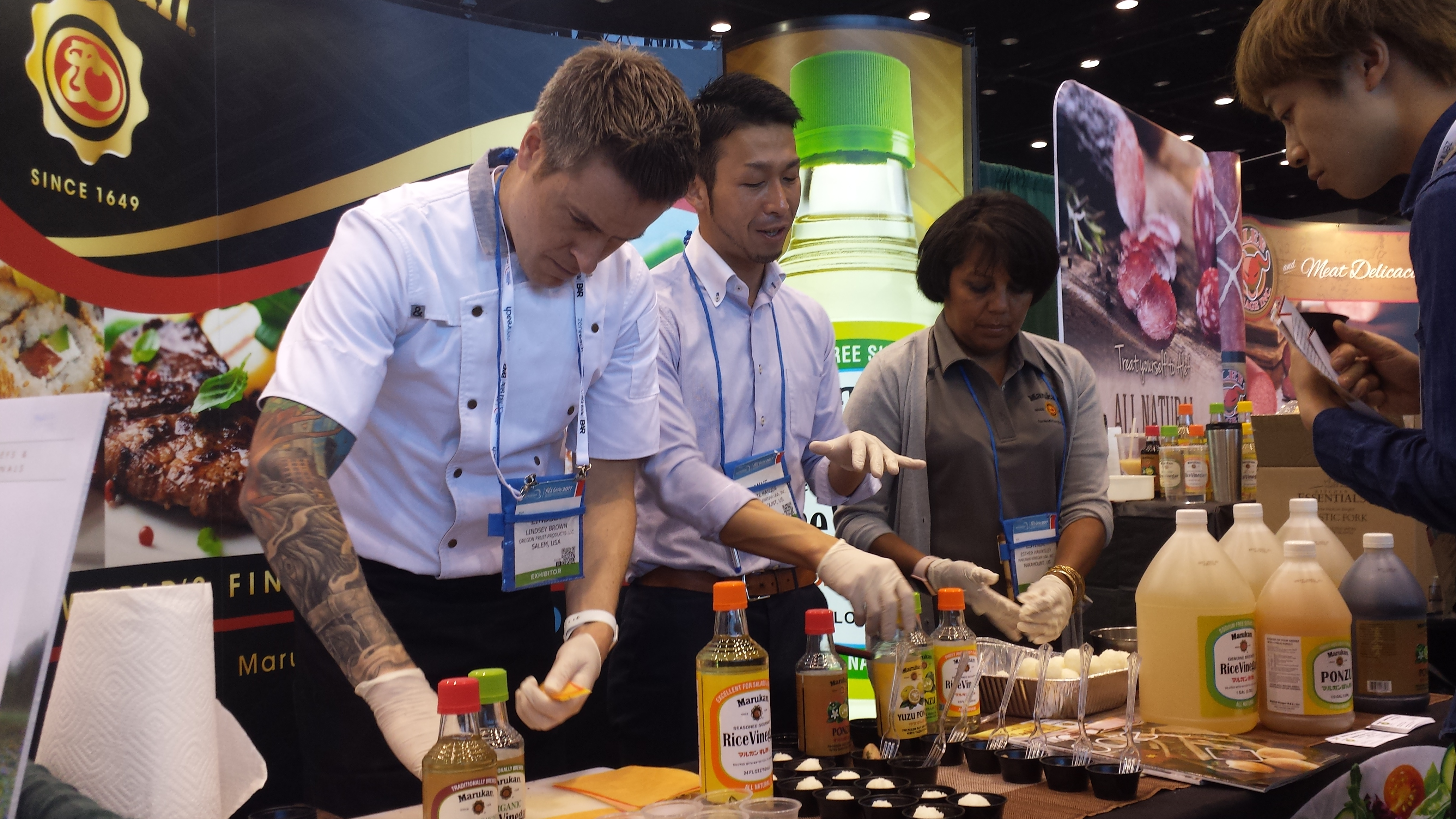 National Restaurant Association Show Attendees Taste Amazing Dishes Made with Marukan