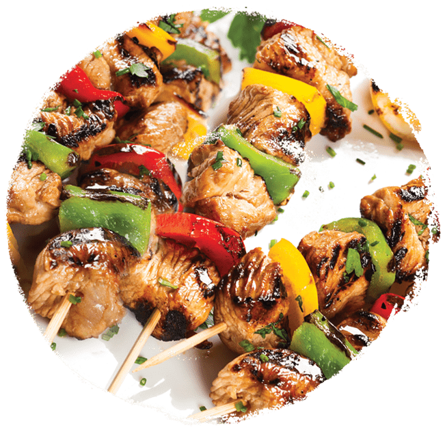 Marukan Chicken and Pepper Skewers