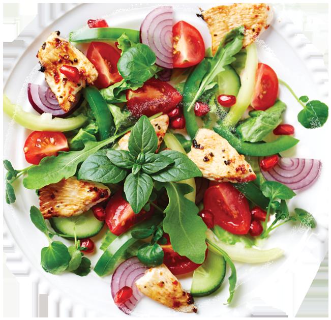 Marukan Chicken Arugula Salad
