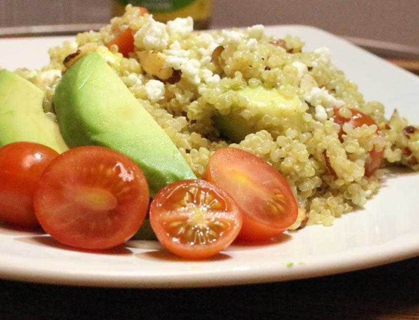 Marukan Cherry Tomato Quinoa Salad