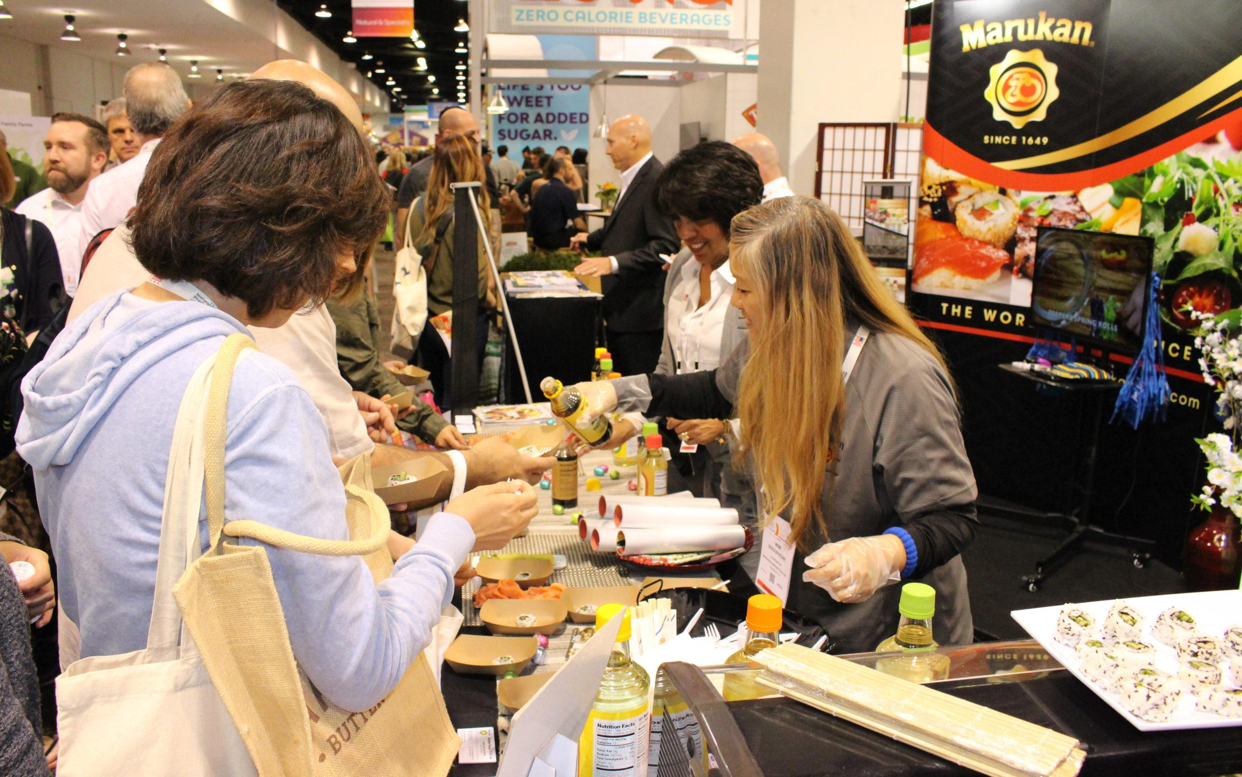 Marukan Dishes Out Delicious Samples at the Natural Products Expo West