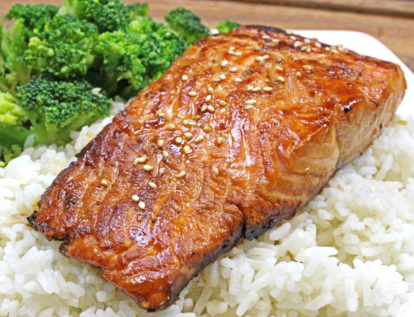 Marukan Honey Garlic Salmon