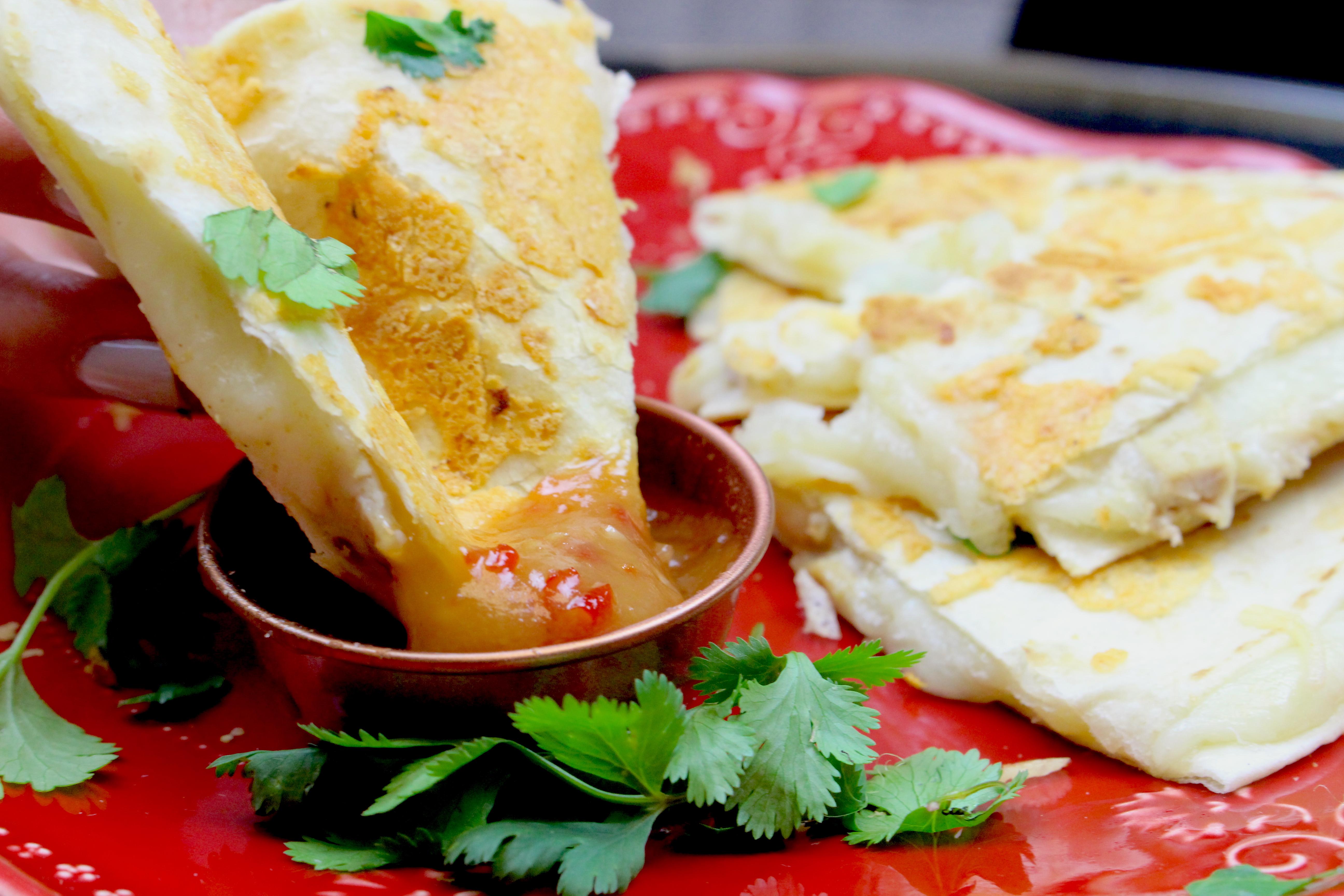 Marukan Thai Chicken Quesadillas