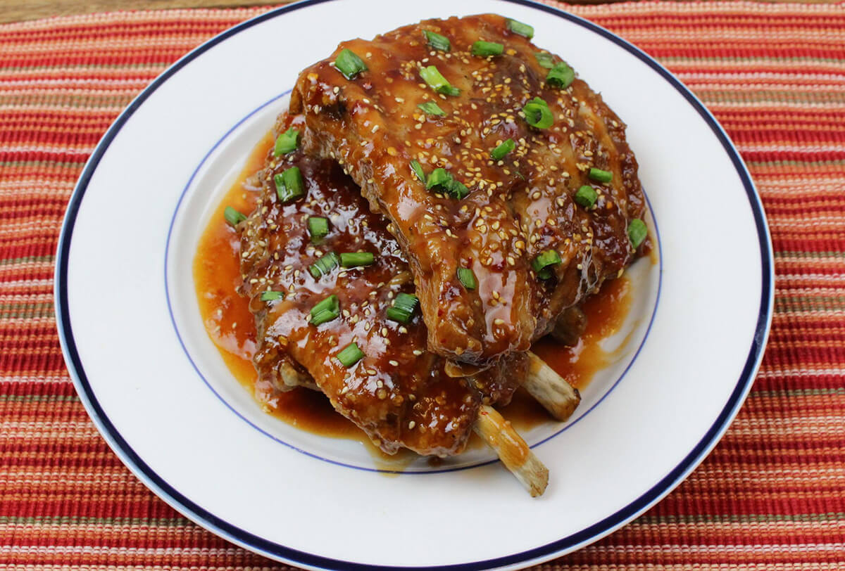 Marukan Instant Pot Asian Ribs