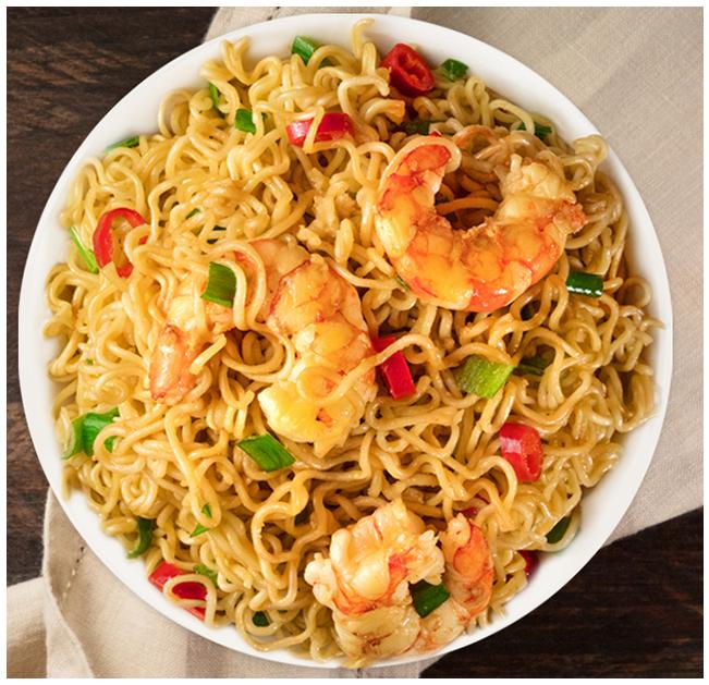 Marukan Quick Shrimp Ramen Noodles
