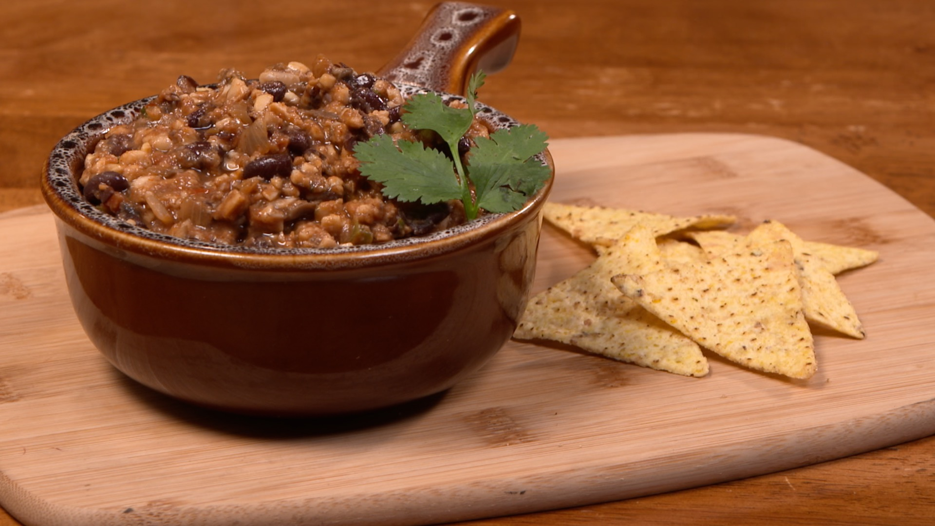 Tempeh and Black Bean Chili – Hearty, Healthful and Satisfying