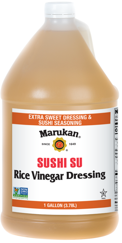 Bottle of Sushi-Su Rice Vinegar Dressing