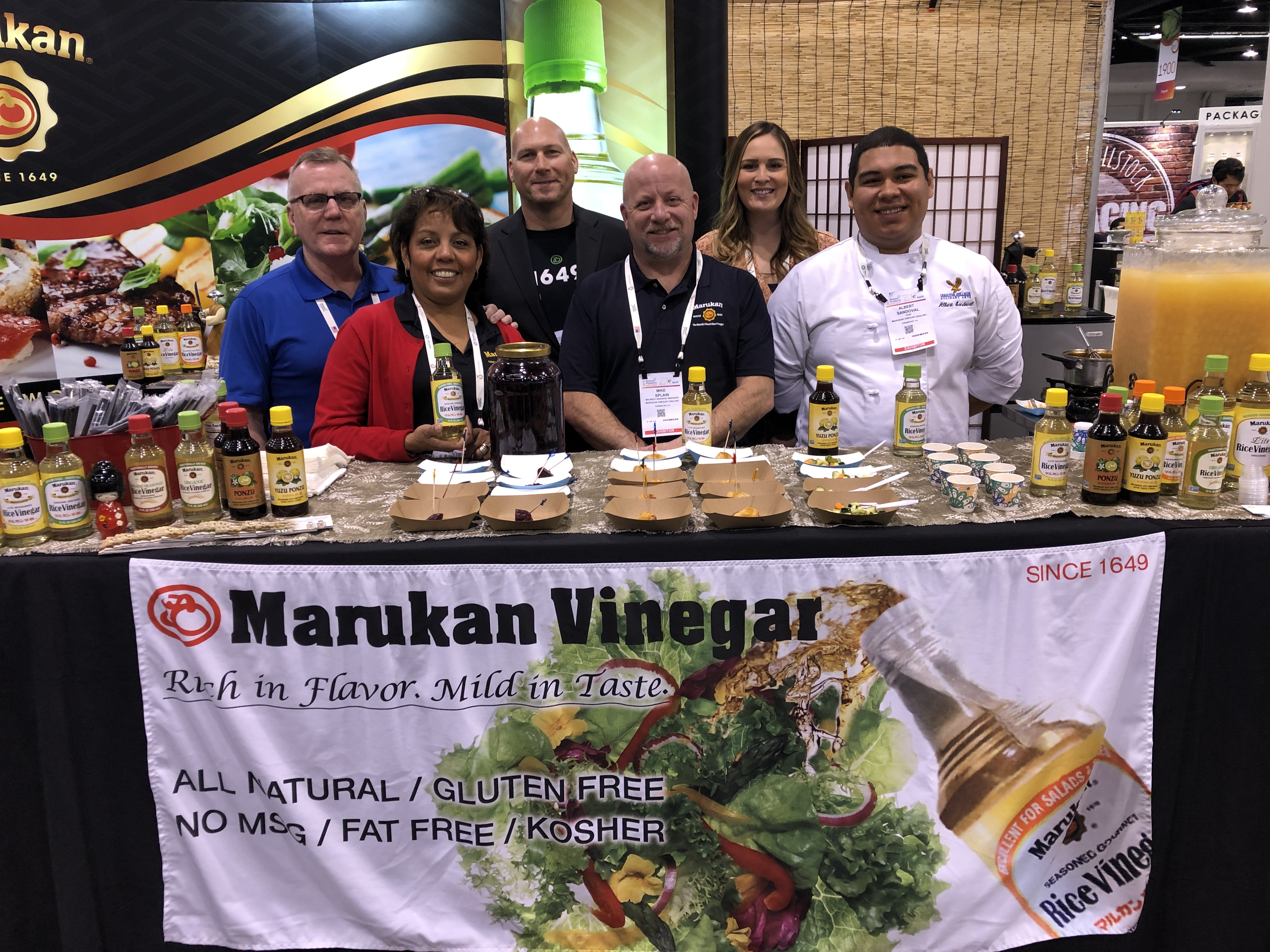 Marukan Kicks Up the Flavor at the Natural Products Expo West