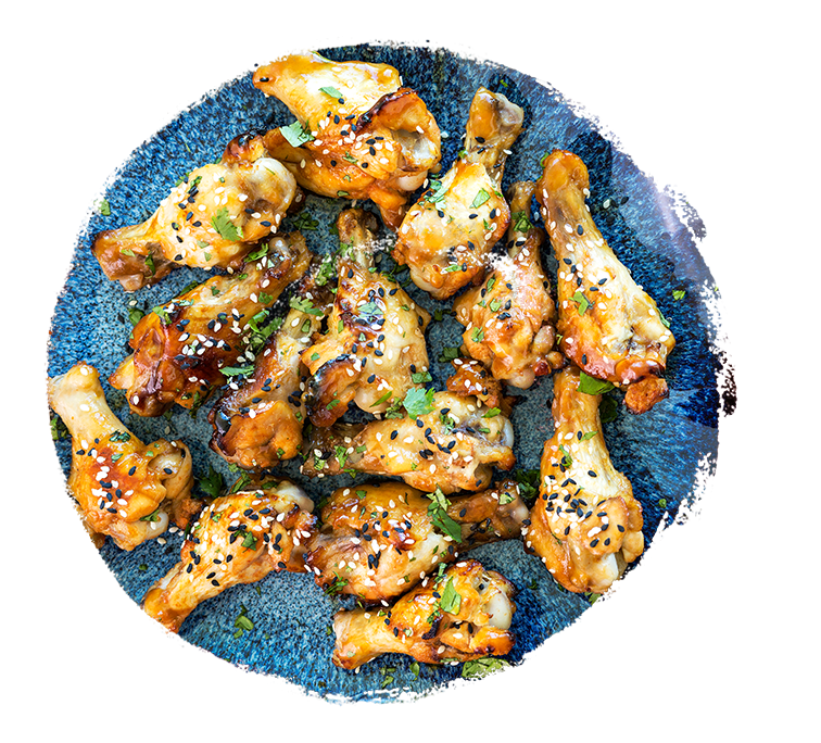 Marukan Asian Baked BBQ Chicken Wings