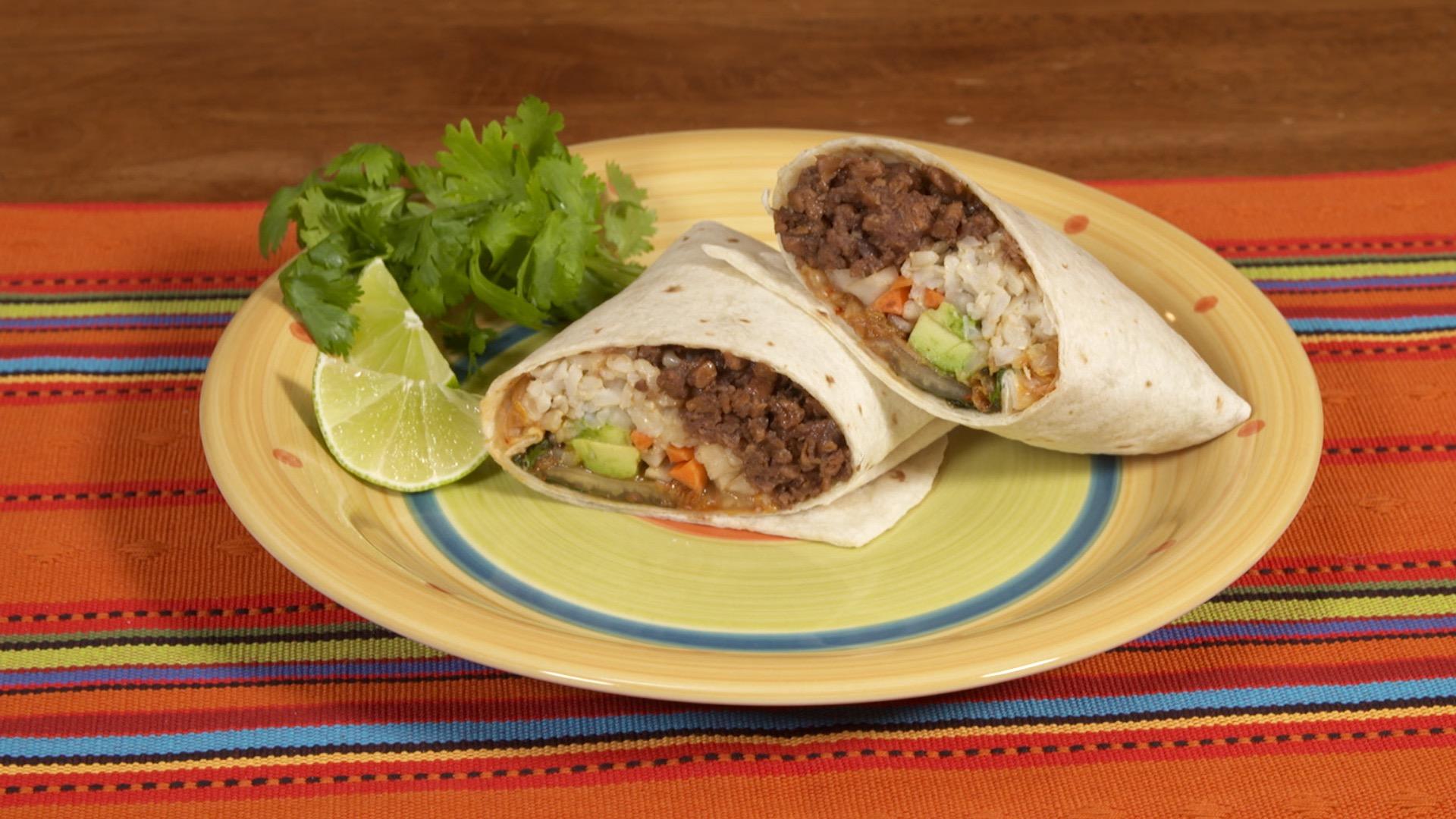 Marukan Vegan Korean BBQ Burrito
