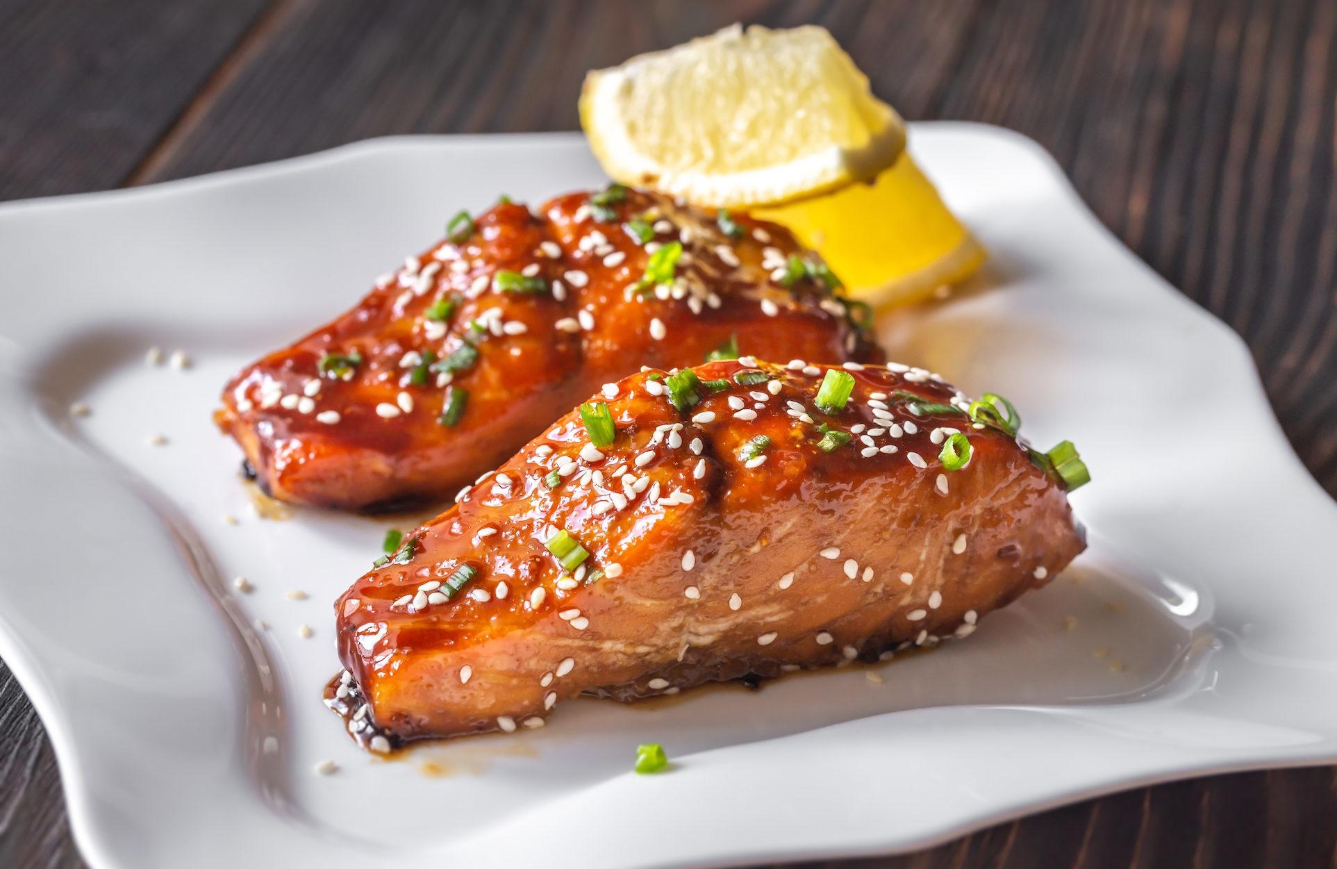 Marukan Baked Teriyaki Salmon