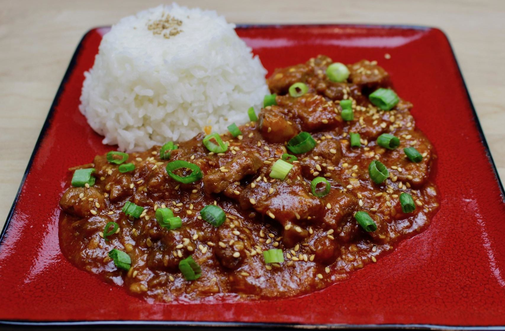 Marukan Instant Pot Spicy Korean Beef Bulgogi