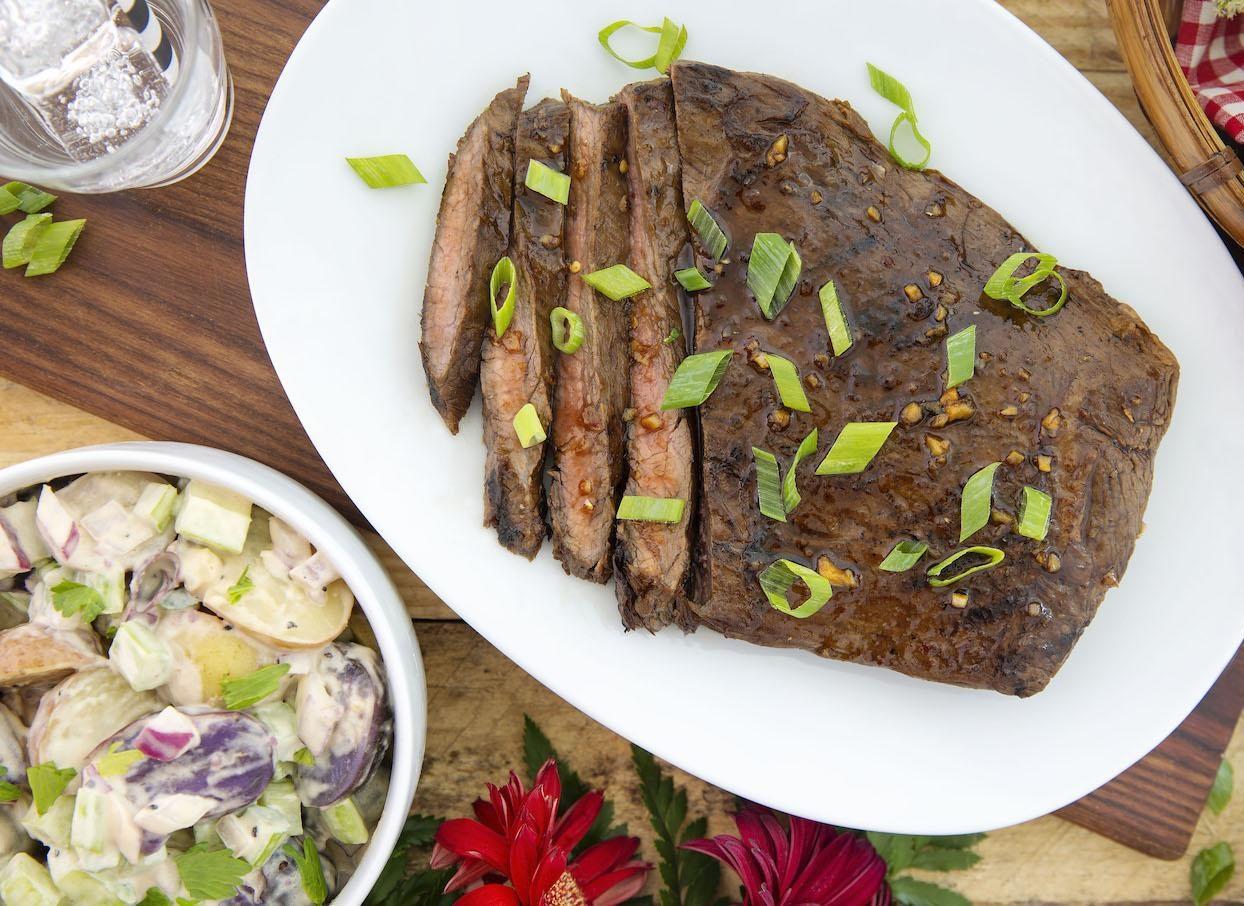 Marukan Ponzu Steak and Potato Salad