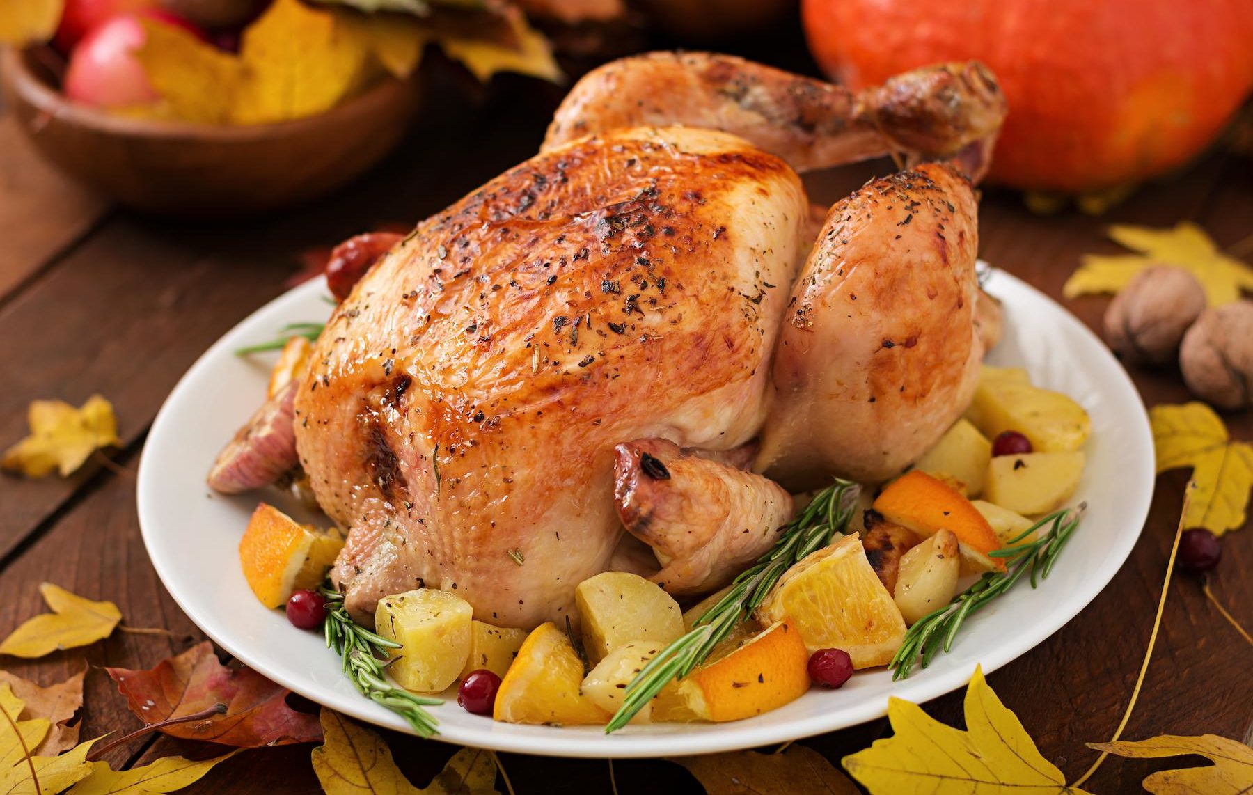 Marukan Roasted Turkey with Apple Cider Vinegar Brine