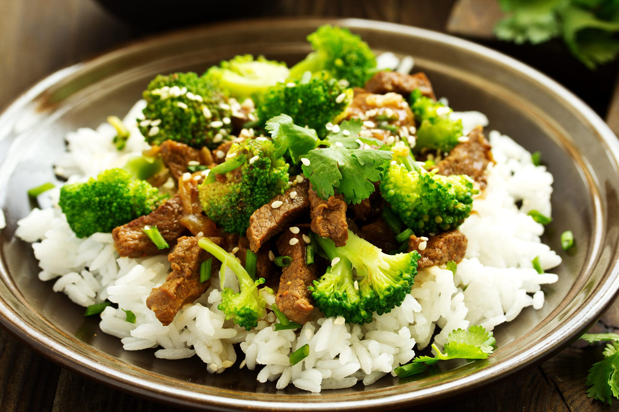 Marukan Apple Cider Vinegar Beef and Broccoli