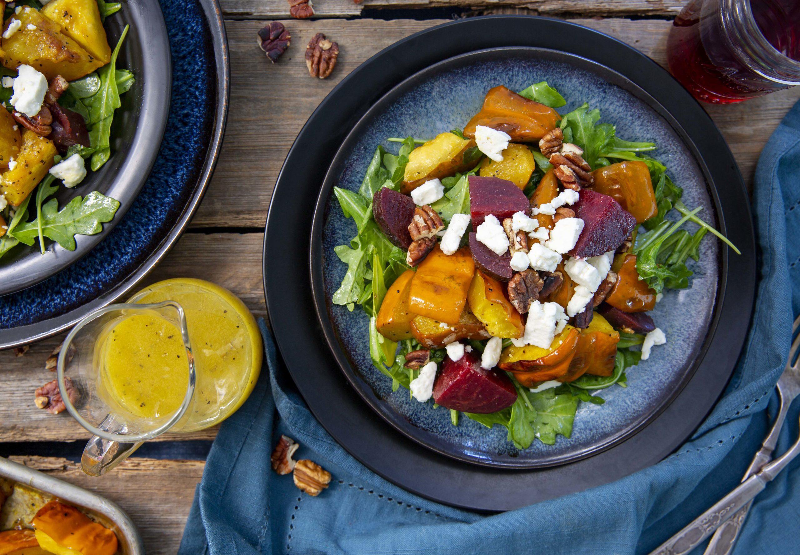 Marukan Roasted Acorn Squash Salad