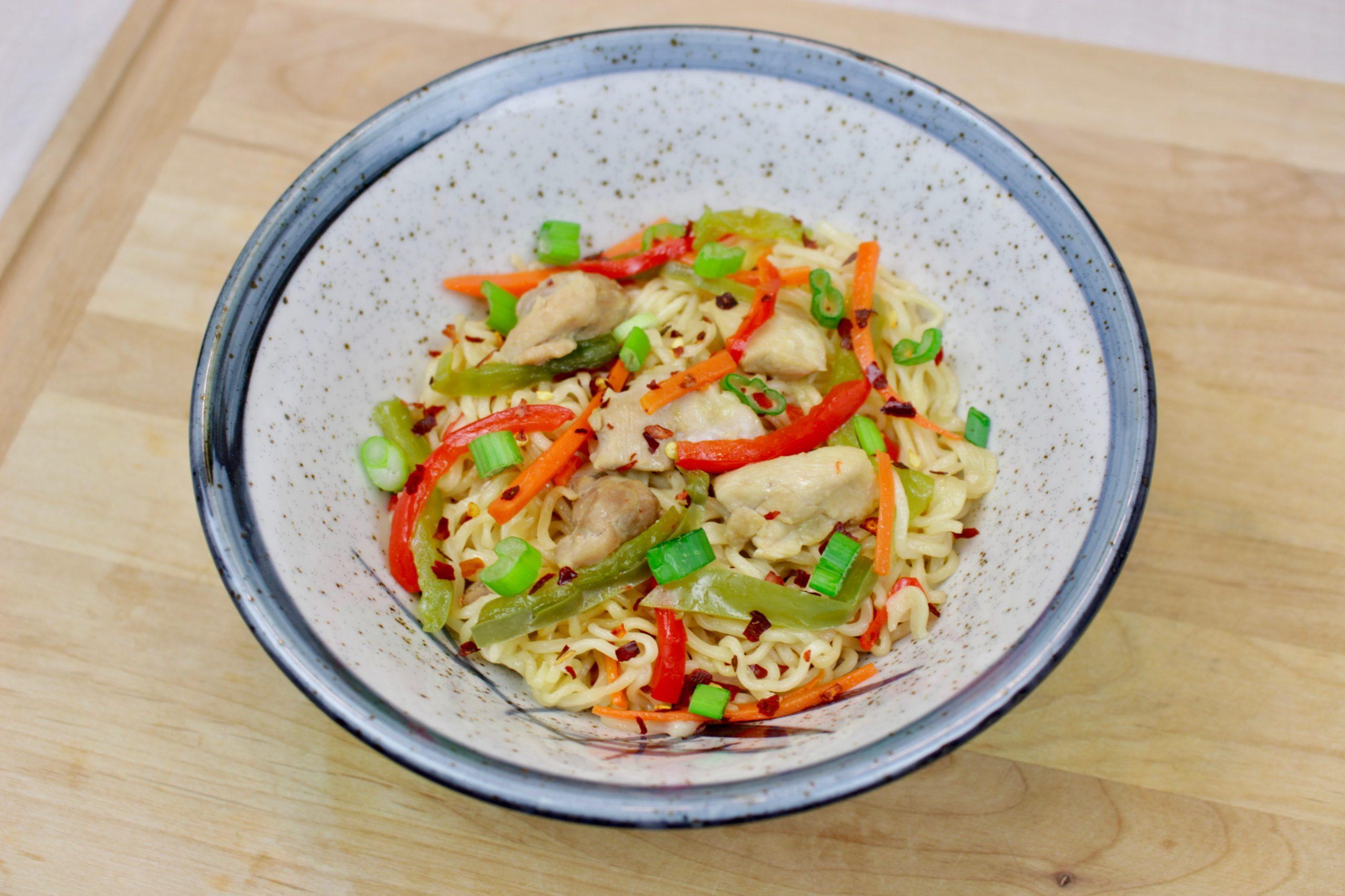 Marukan Instant Pot Chicken Ramen Stir Fry