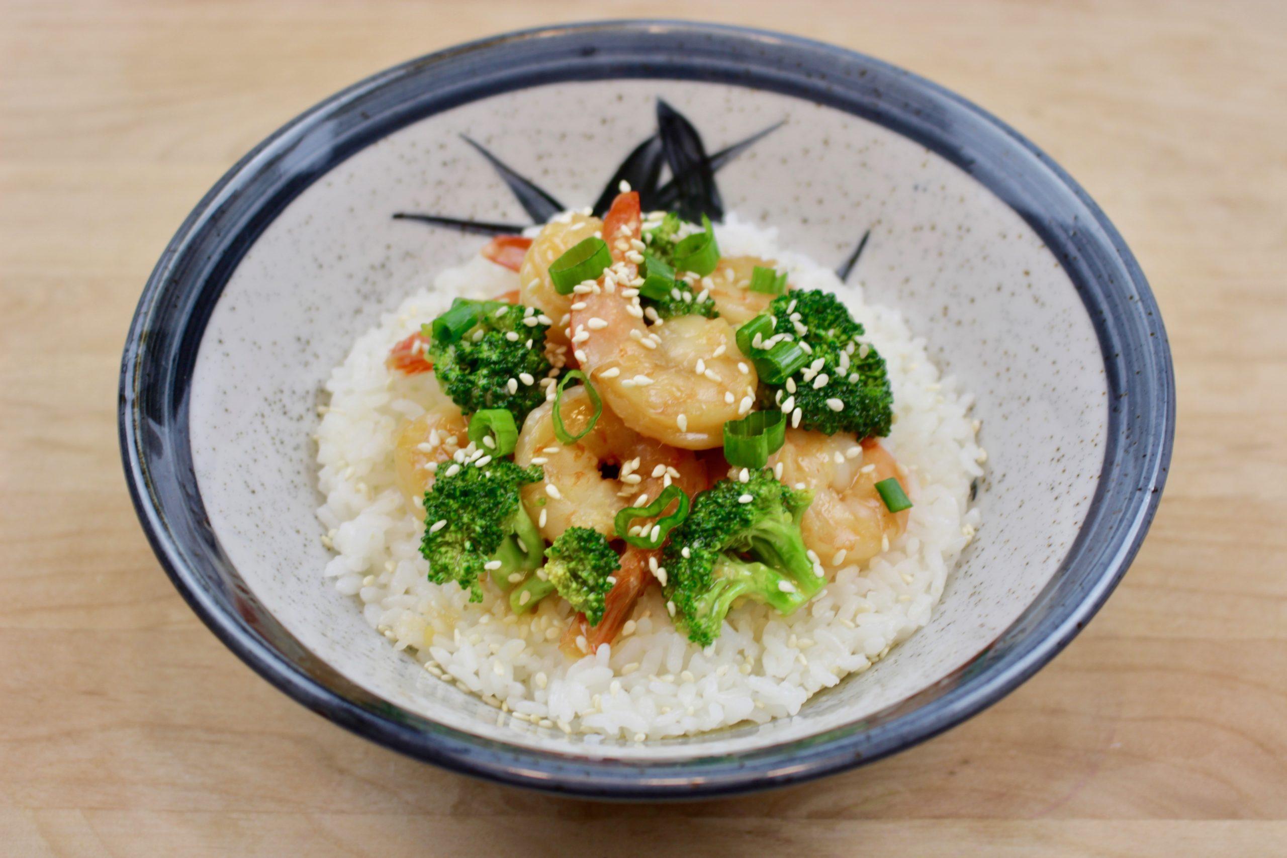 Marukan Instant Pot Shrimp and Broccoli