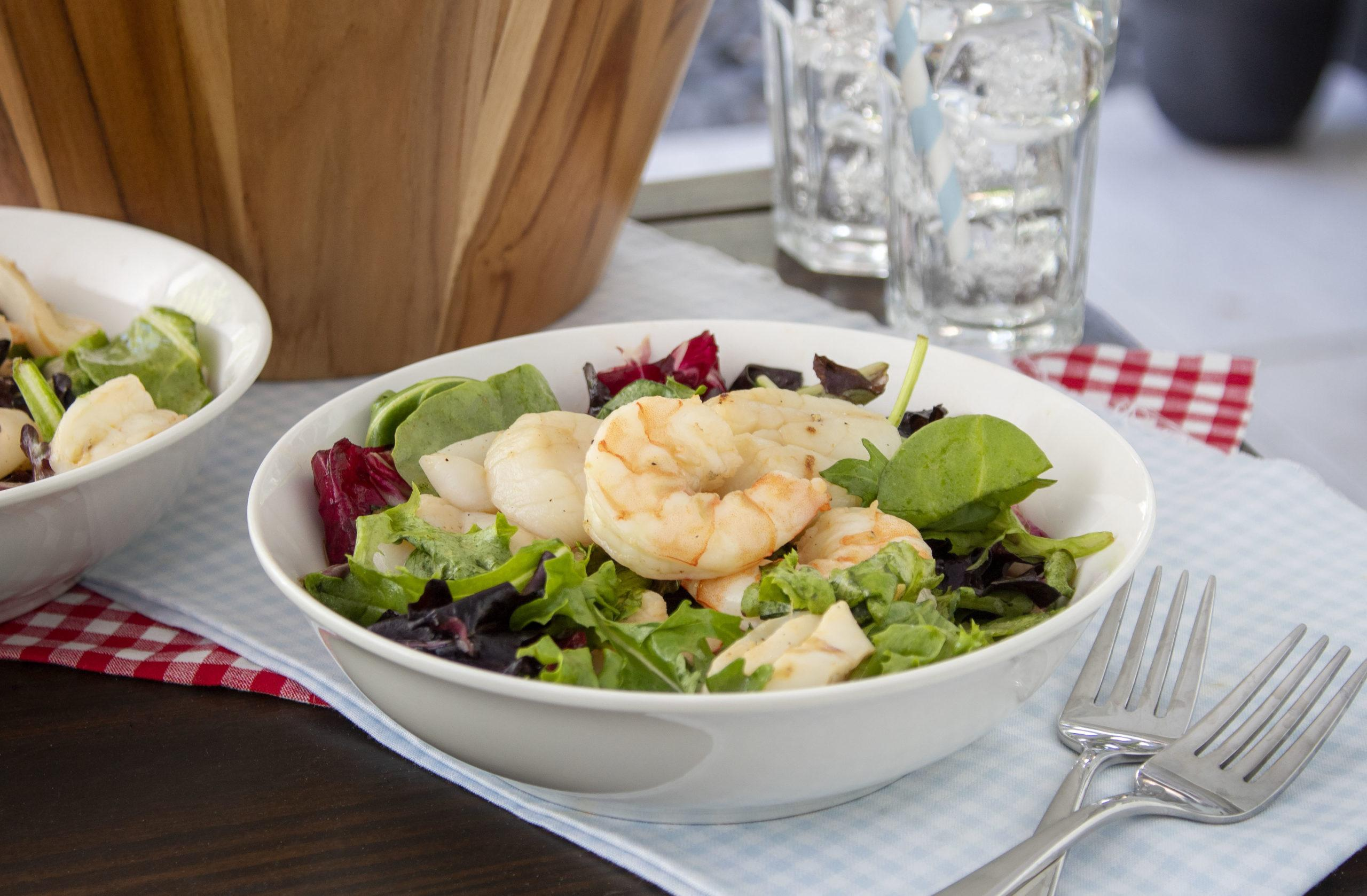 Marukan Grilled Seafood Salad