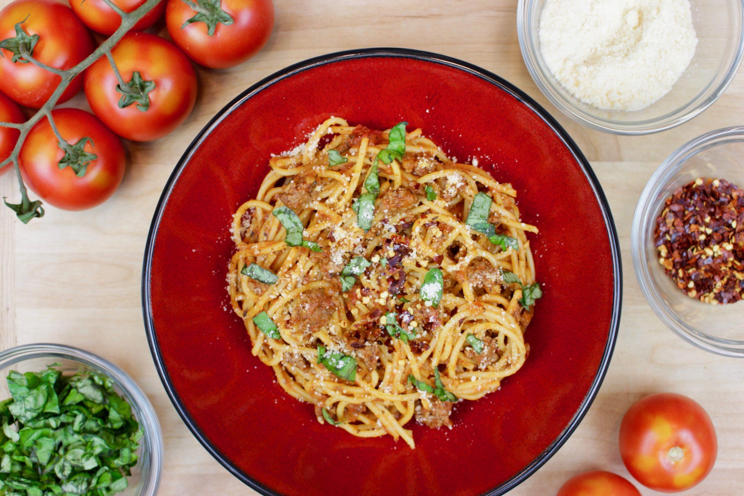 Marukan Instant Pot Spaghetti