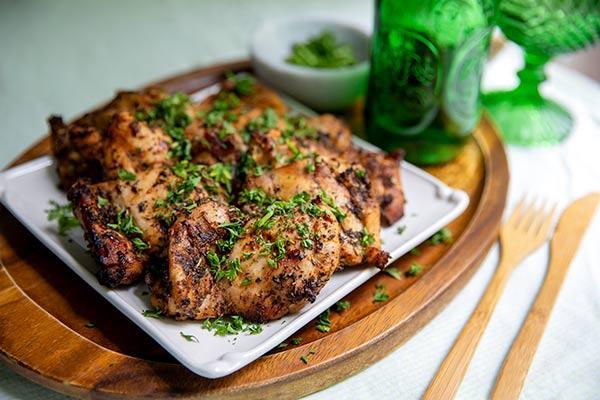 Marukan Grilled Apple Cider Vinegar Chicken Thighs