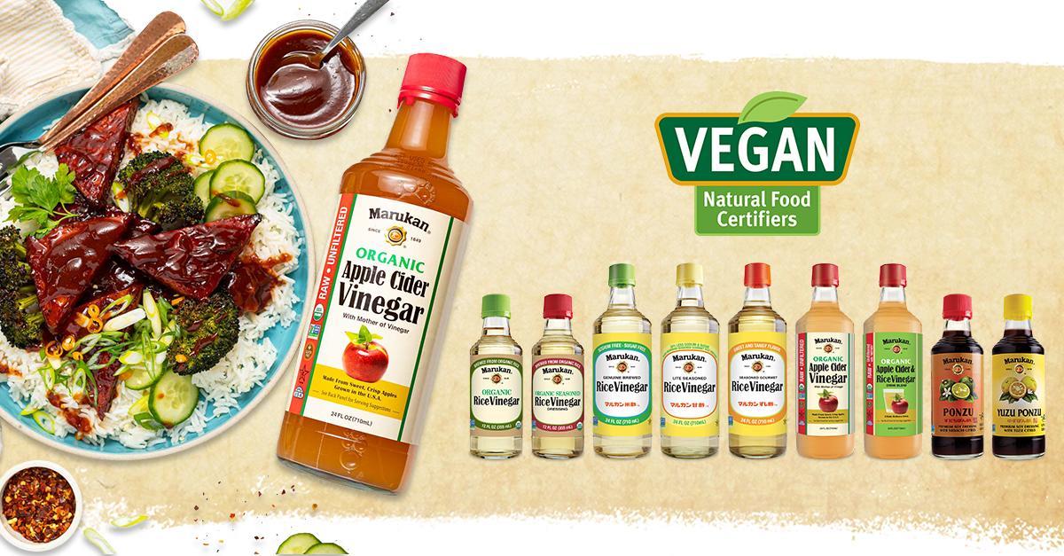 Marukan Products Certified Vegan