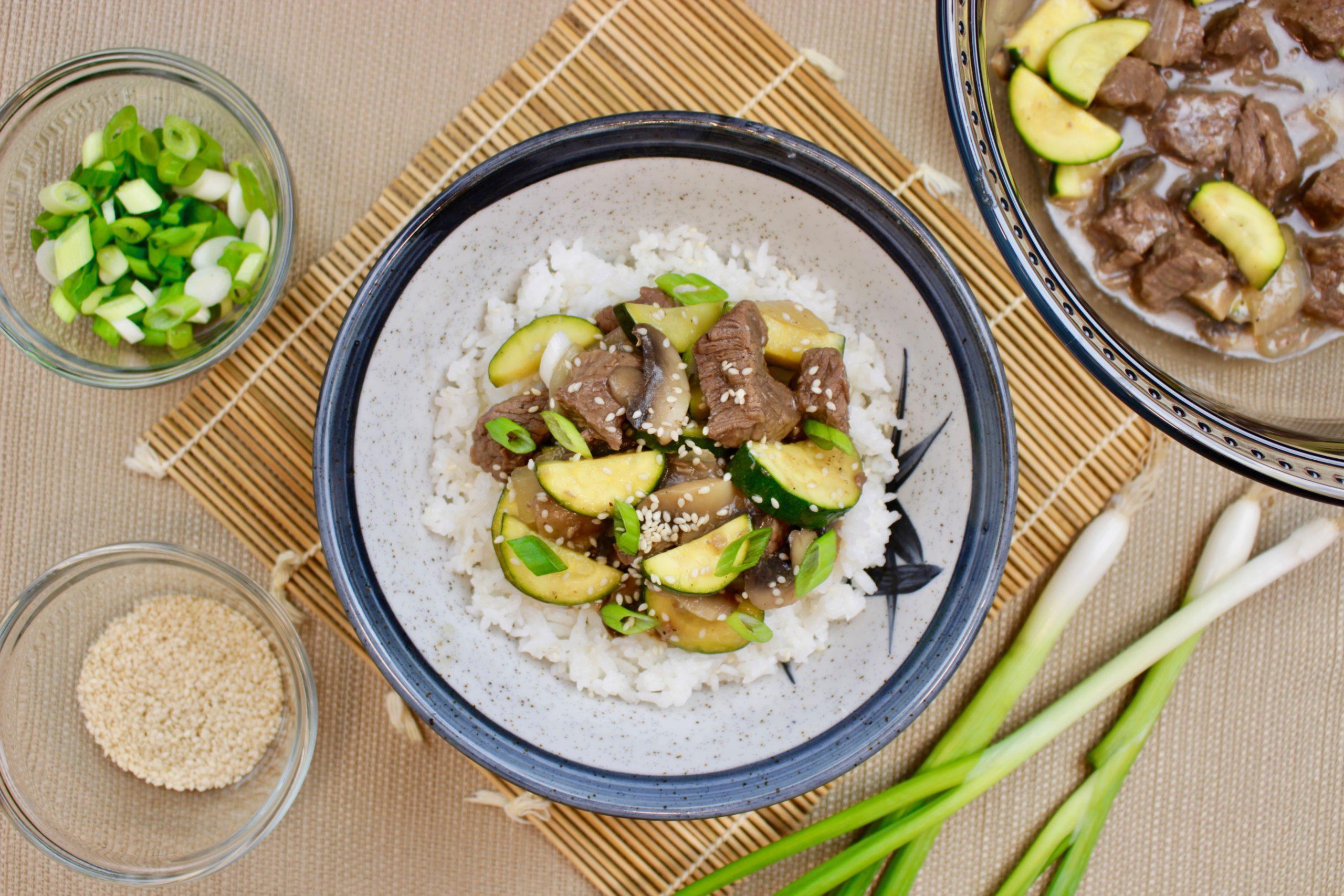 Marukan Instant Pot Hibachi Steak