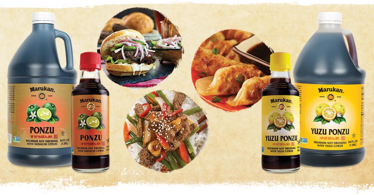 Marukan Premium Ponzu – Bright, Savory and Versatile