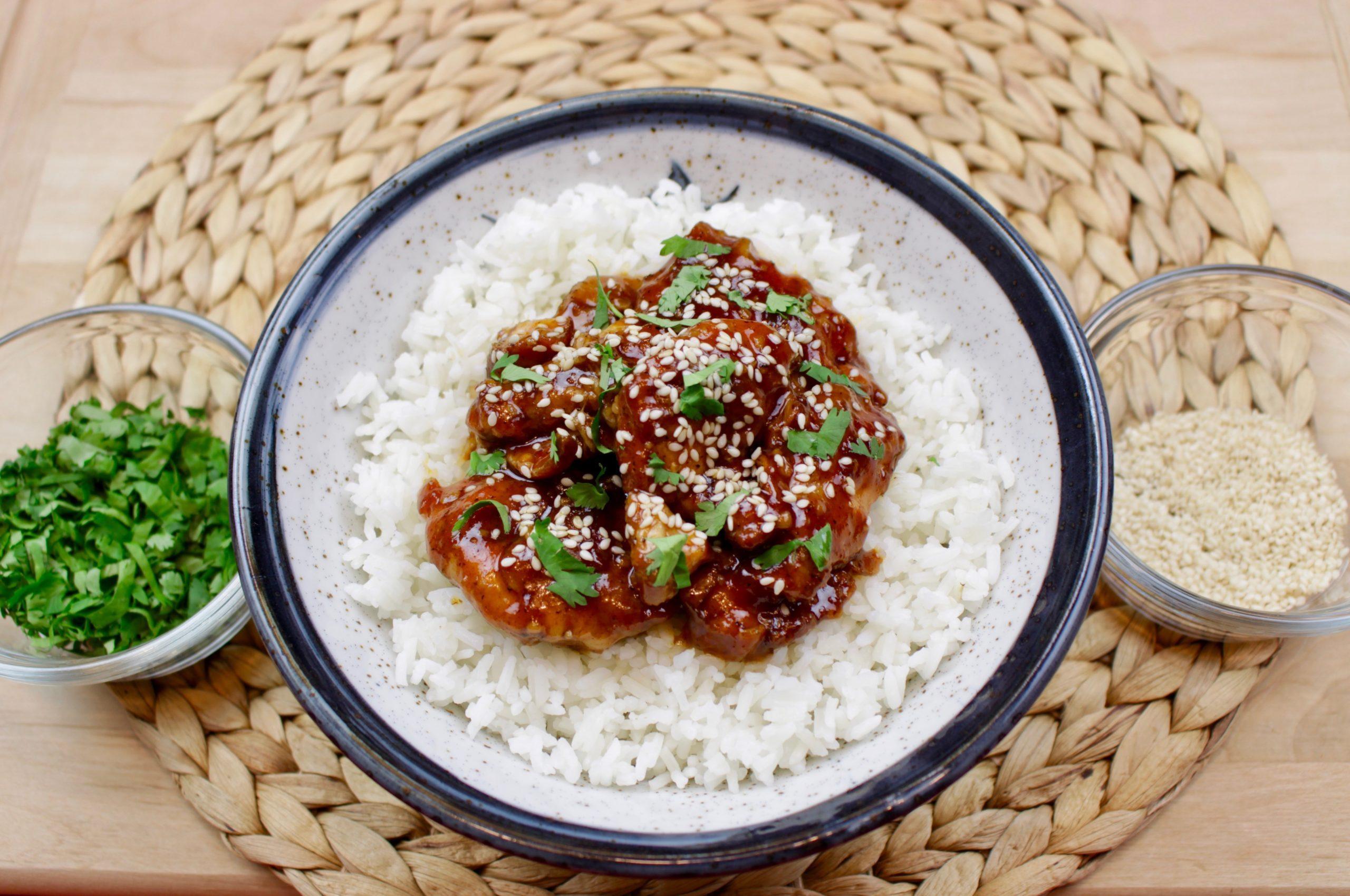 Marukan Instant Pot Sticky Chicken